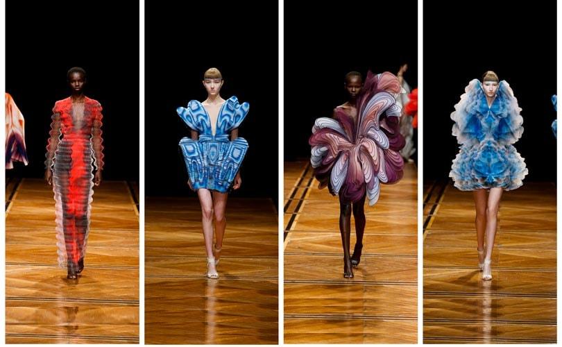 Kijken: De kleurrijke haute couture collectie van Iris van Herpen