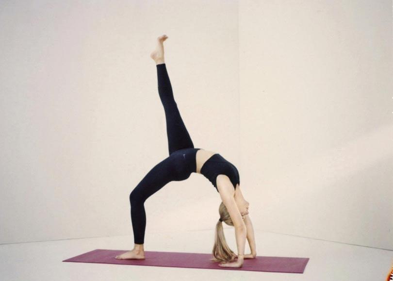 Nike zet in op yoga