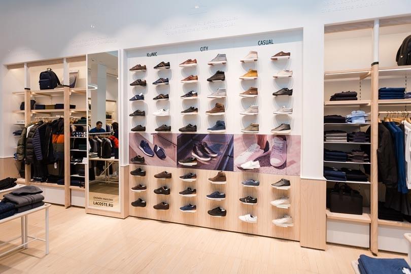Kijken: Lacoste introduceert nieuw premium retail concept