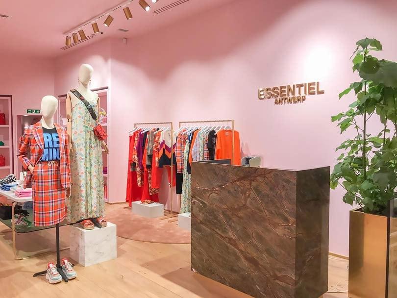 Essentiel Antwerp opent eerste Britse winkel