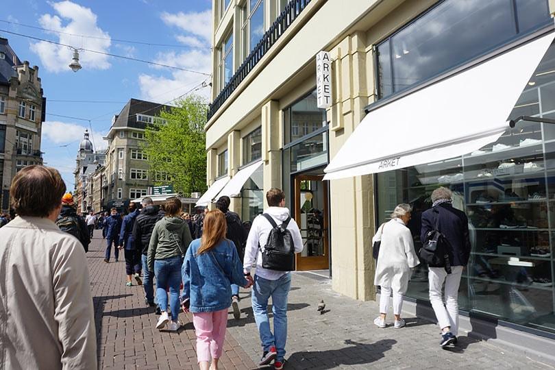 Hoe zit het nu echt met de drukte in de Amsterdamse binnenstad?