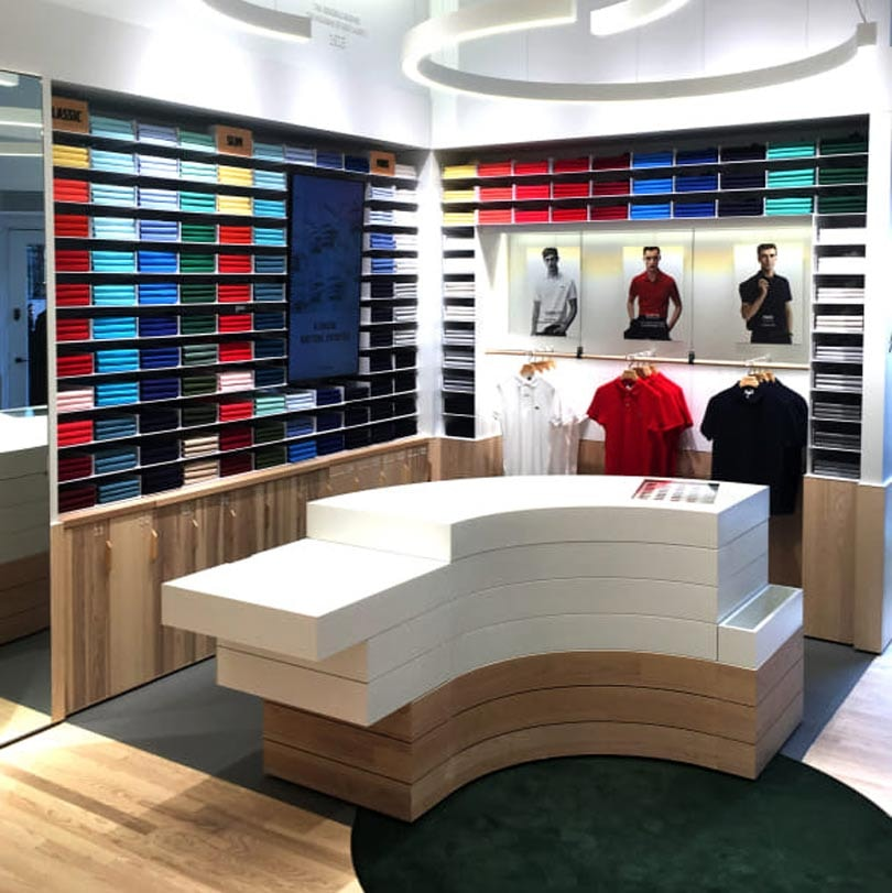 LACOSTE OPENT NIEUWE BOUTIQUE IN AMSTERDAM