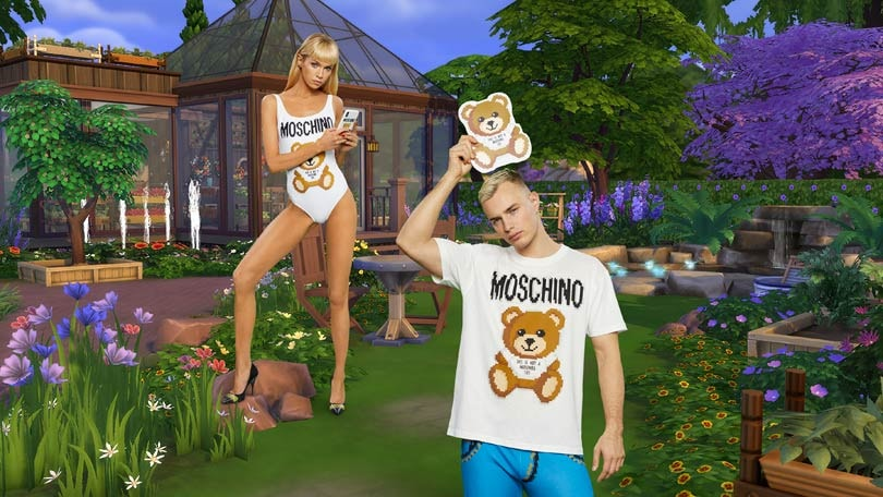 Moschino brengt The Sims collectie uit