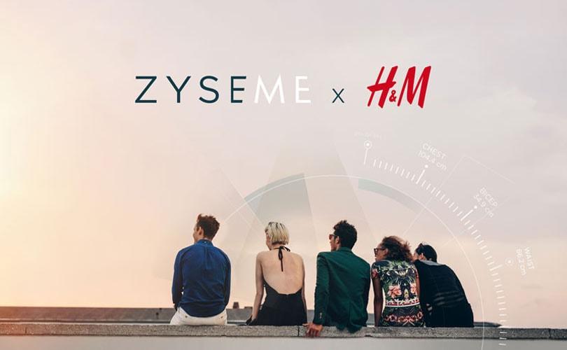 H&M werkt samen met ZyseMe voor op maat gemaakte overhemden