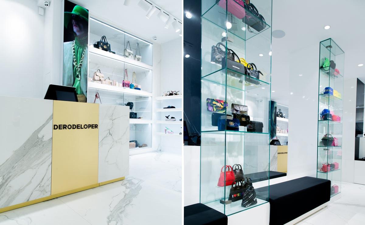 """Luxe schoenenwinkel DeRodeLoper: """"Schaarste maakt sneakers gewild"""""""