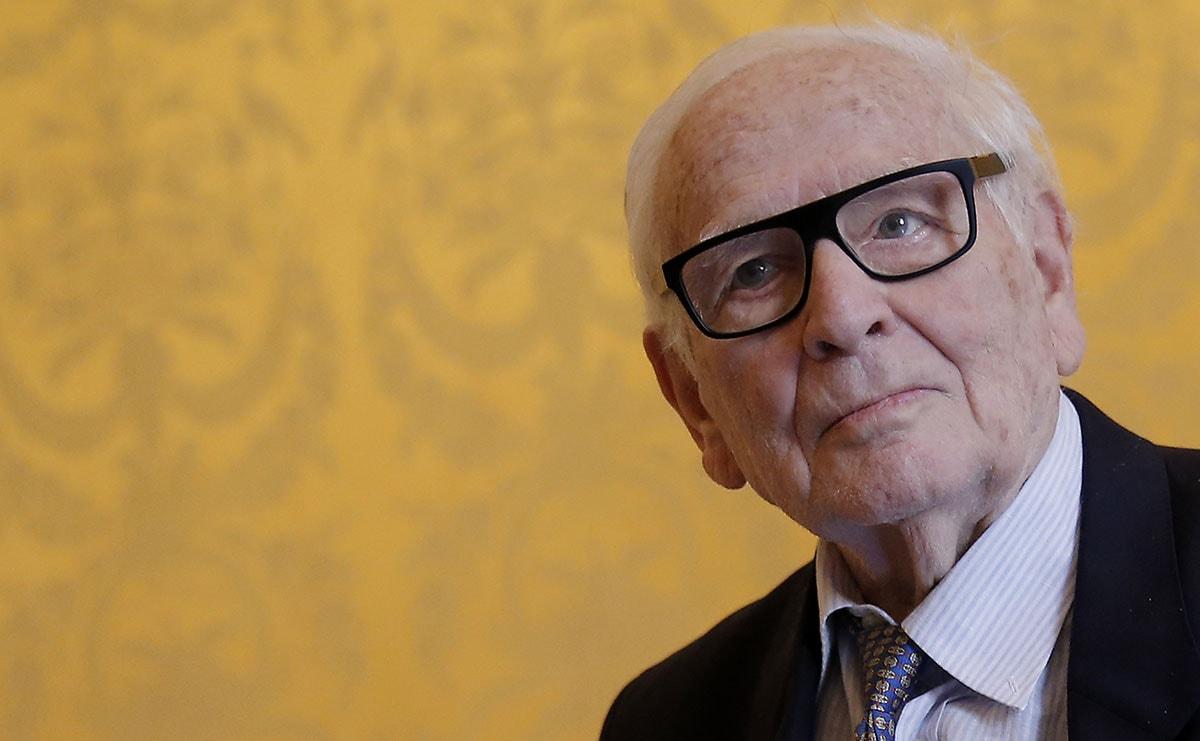 96-jarige Pierre Cardin heeft opvolgers voor modehuis op het oog
