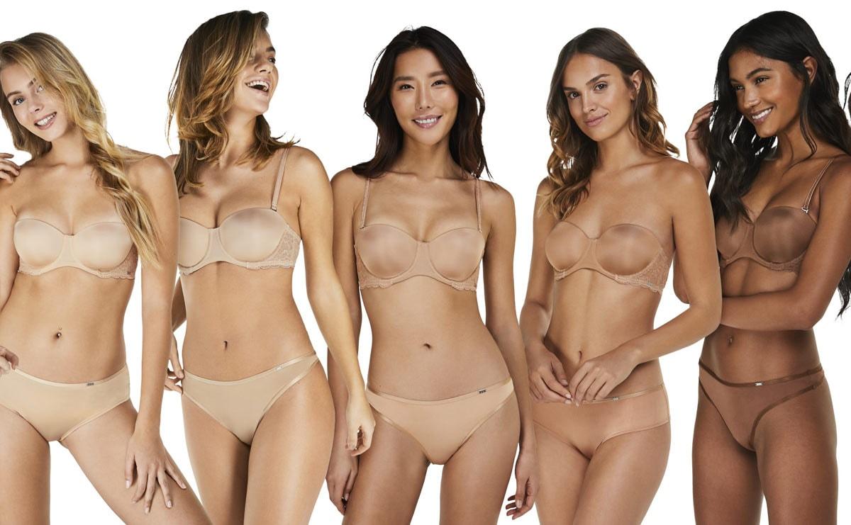 Hunkemöller breidt collectie huidskleurige lingerie uit