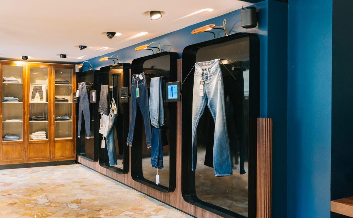 Kijken: Denim mill Candiani Denim opent eerste eigen winkel