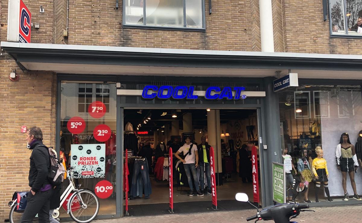 Alle winkels CoolCat toch dicht - gaat alleen online verder