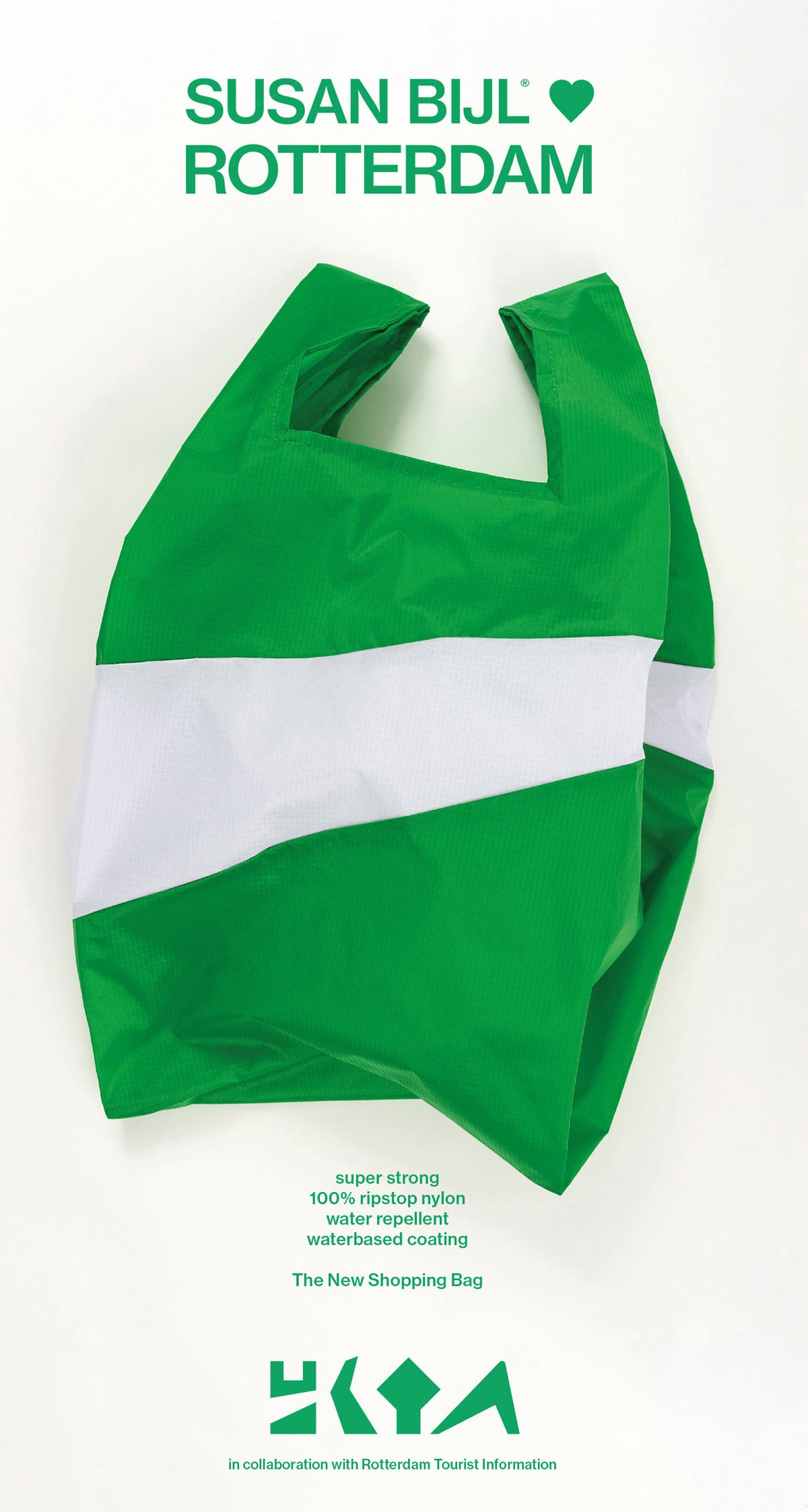 Rotterdam krijgt dankzij tassenlabel Susan Bijl zijn 'eigen tas'