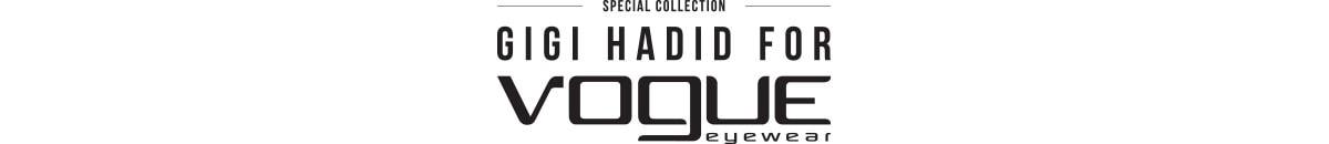 Vogue Eyewear en Gigi Hadid lanceren 2e SS19-capsule