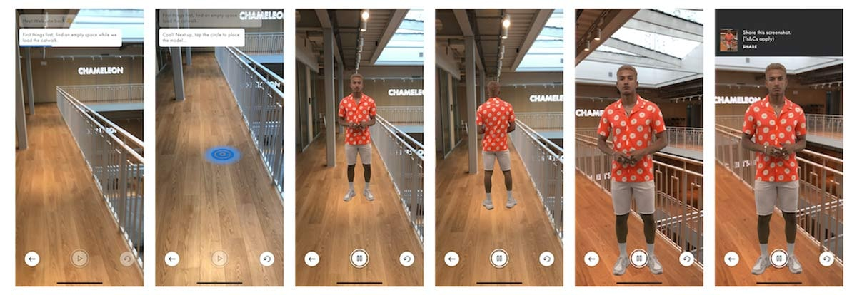 Gucci laat mobiele shoppers sneakers passen via augmented reality