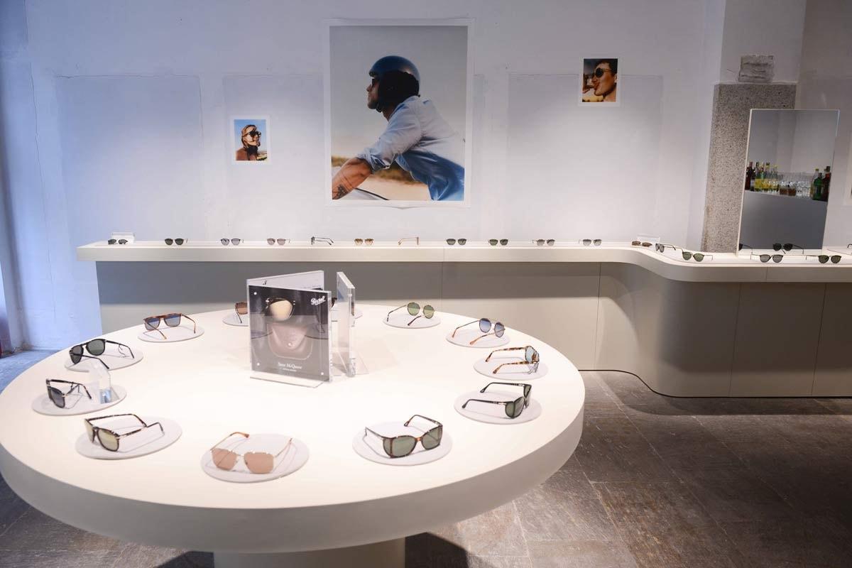 Eerste Europese conceptstore Persol opent in Milaan