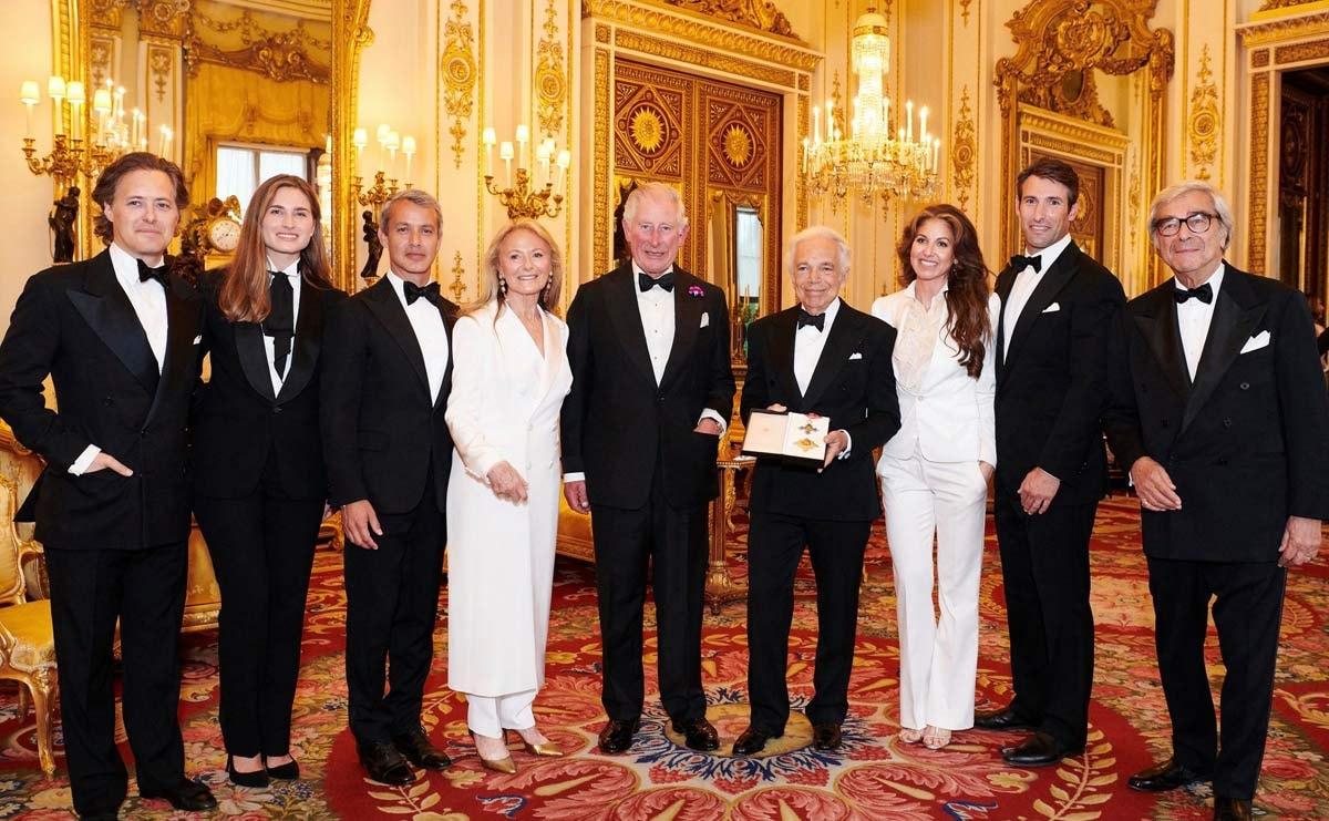 Ralph Lauren geridderd in Groot-Brittanië