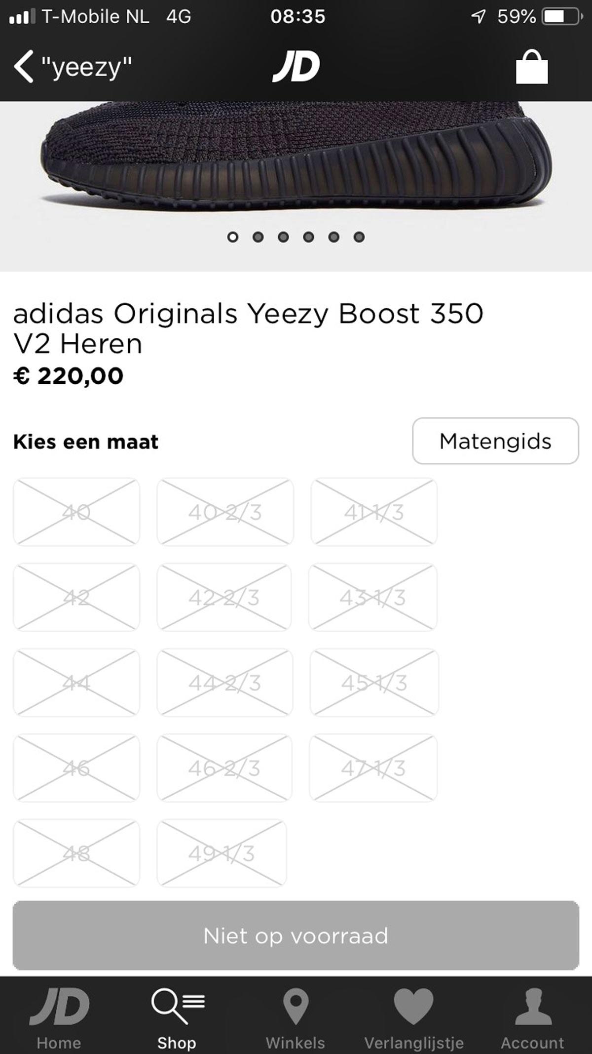 Het geheim achter Yeezy: nieuwe lancering binnen no time wereldwijd uitverkocht