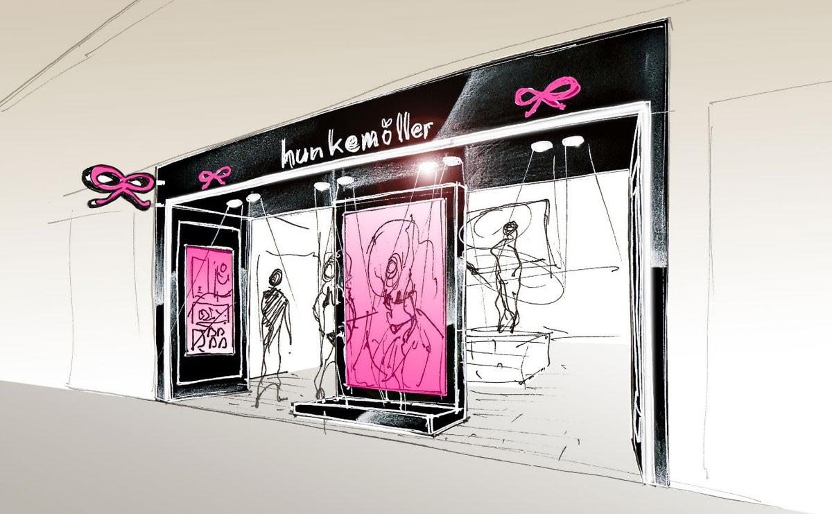 Hunkemöller opent eerste Chinese winkel - kleine 50 meer zullen volgen