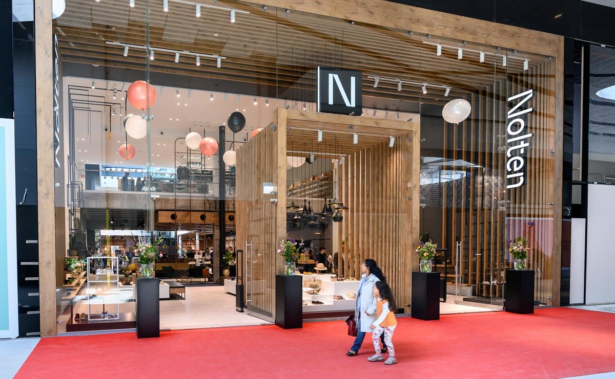 Zien: Nolten heropend flagshipwinkel in Mall of the Netherlands