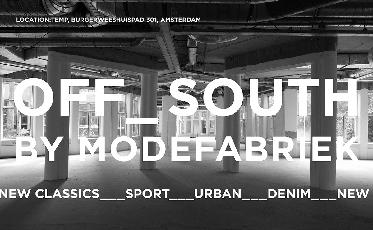 MODEFABRIEK First time off site/Off South - Monday 8 July 2019 at Temp