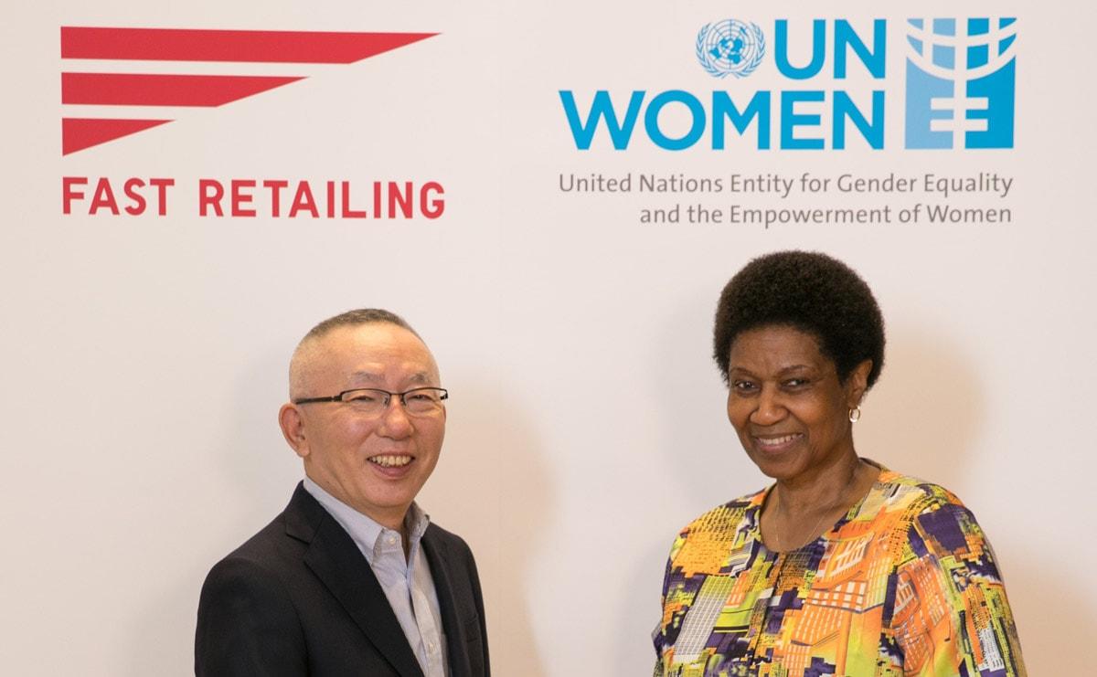 Moederbedrijf Uniqlo en UN Women ondersteunen samen vrouwen in kledingindustrie