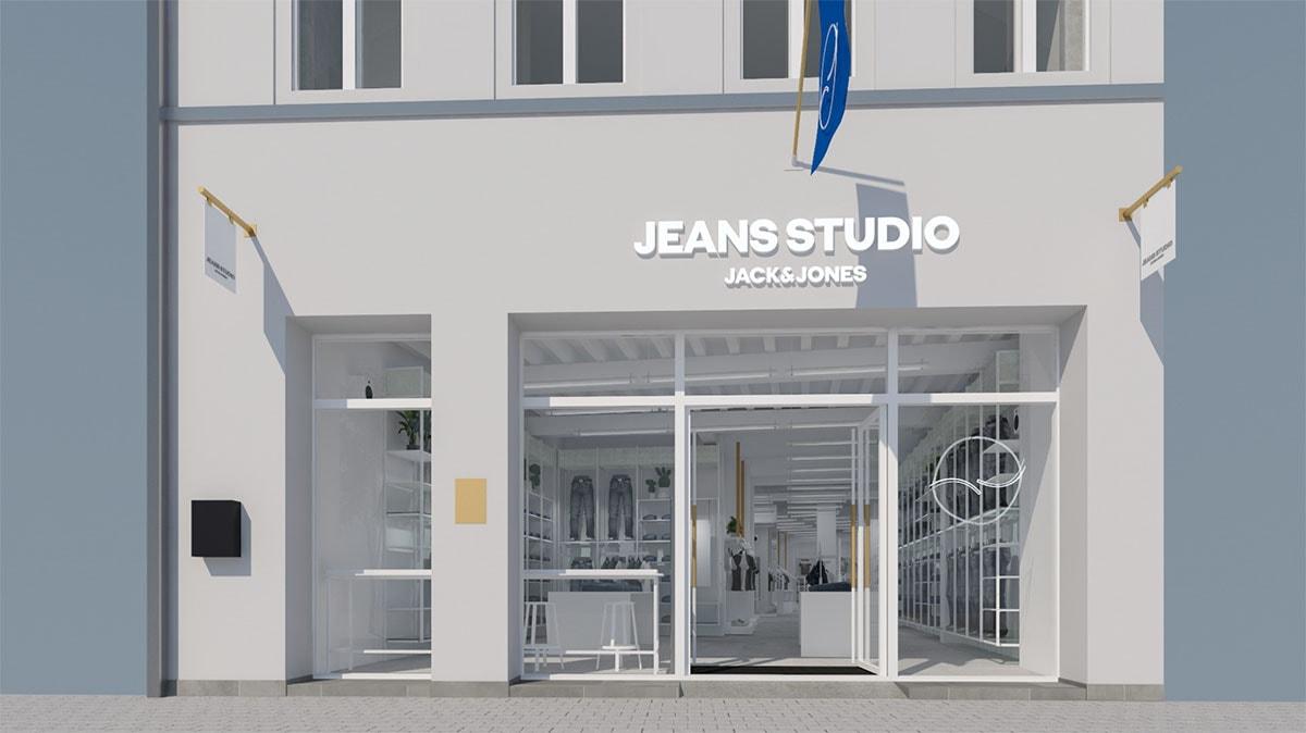 Kijken: Gent krijgt primeur van eerste buitenlandse Jeans Studio Jack & Jones