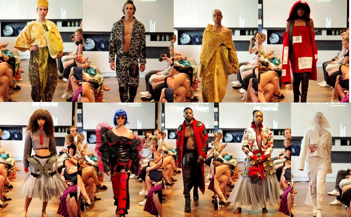 Afstudeerders 2019 van de Amsterdam Fashion Academy vieren hun werk en gaan voor een schone fashion industrie