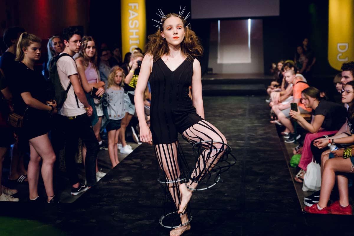 15-jarige Klaskie mode-winnaar van Kunstbende