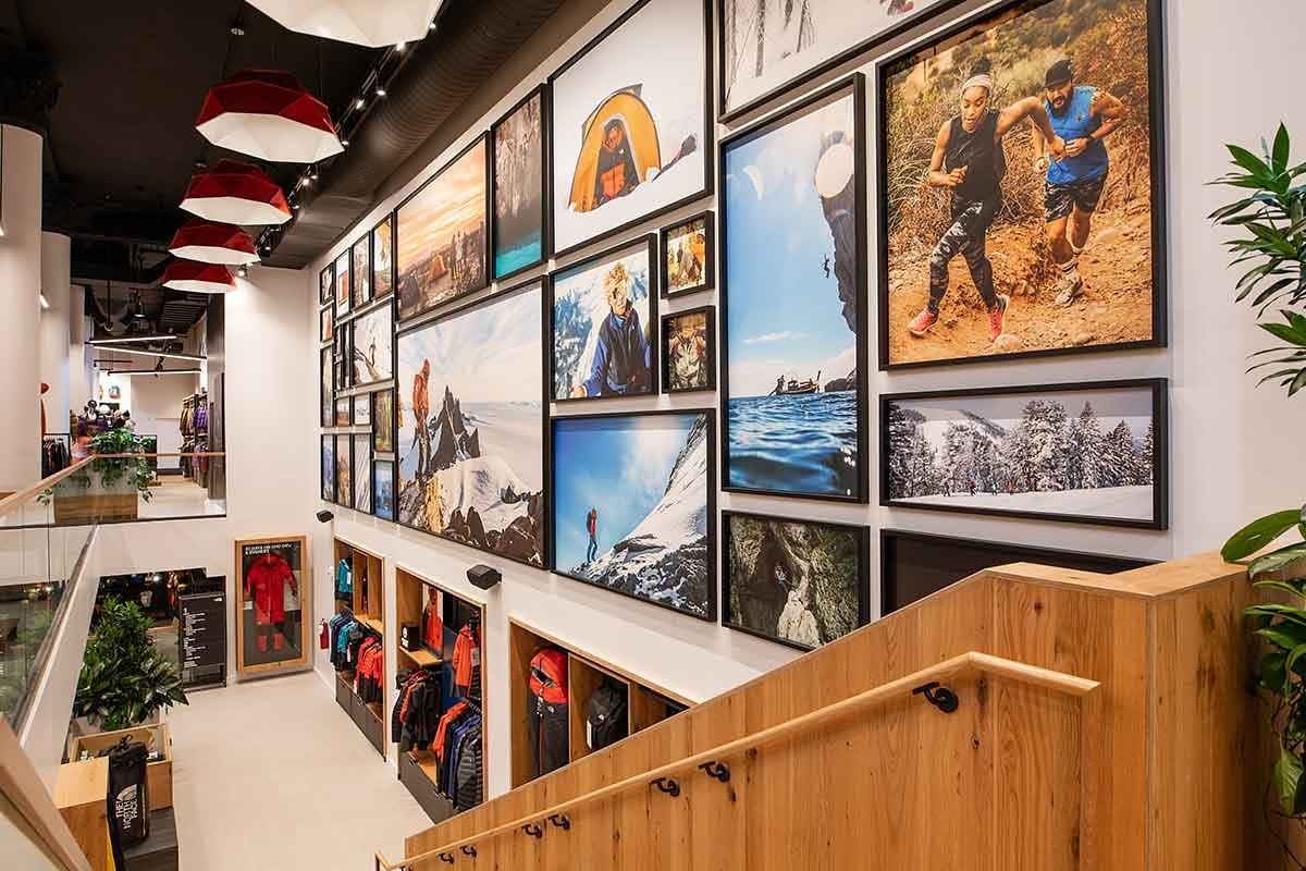 Kijken: het nieuwe winkelconcept van The North Face