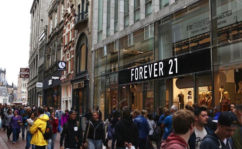 Forever 21 vraagt uitstel van betaling aan