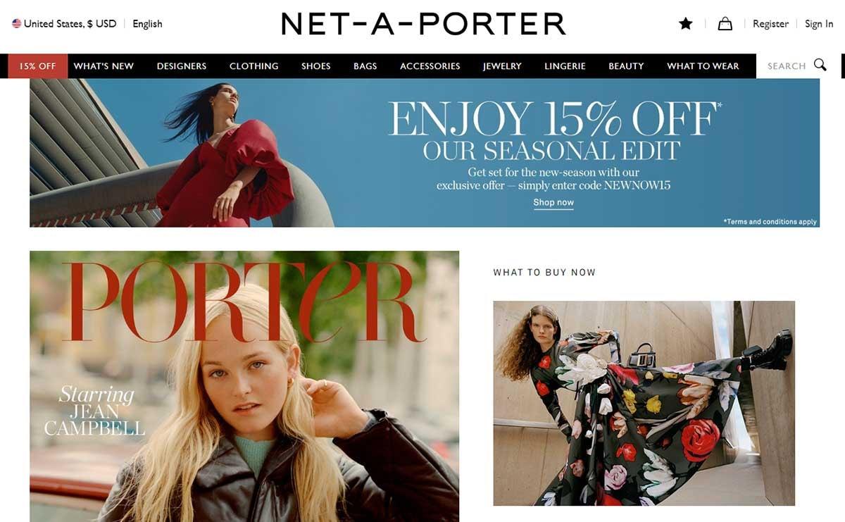 Net-a-Porter krijgt eigen plek op Alibaba's Tmall Luxury Pavilion