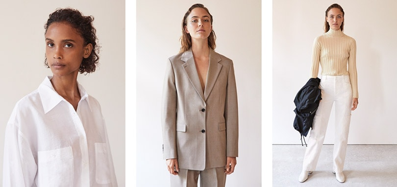 Filippa K interpreteert de formele investment pieces door een moderne lens in de nieuwe SS 2020 collectie