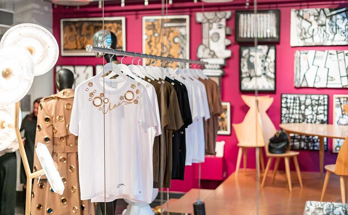 Claes Iversen vertaalt couture collectie naar T-shirt collectie