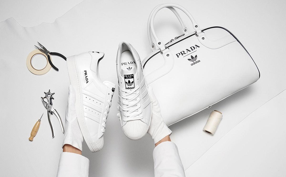 Prada en Adidas presenteren limited edition tas en sneakers