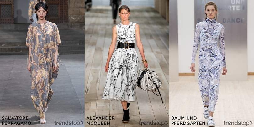Belangrijke Modeshow Printtrends voor Voorjaar/Zomer 2020