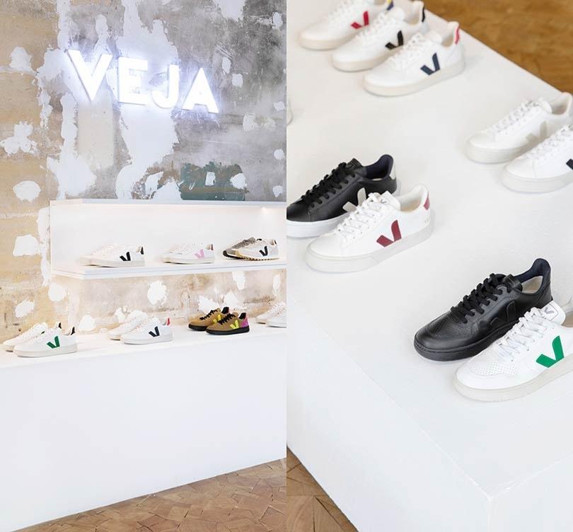 Binnenkijken: De eerste winkel van schoenenmerk Veja