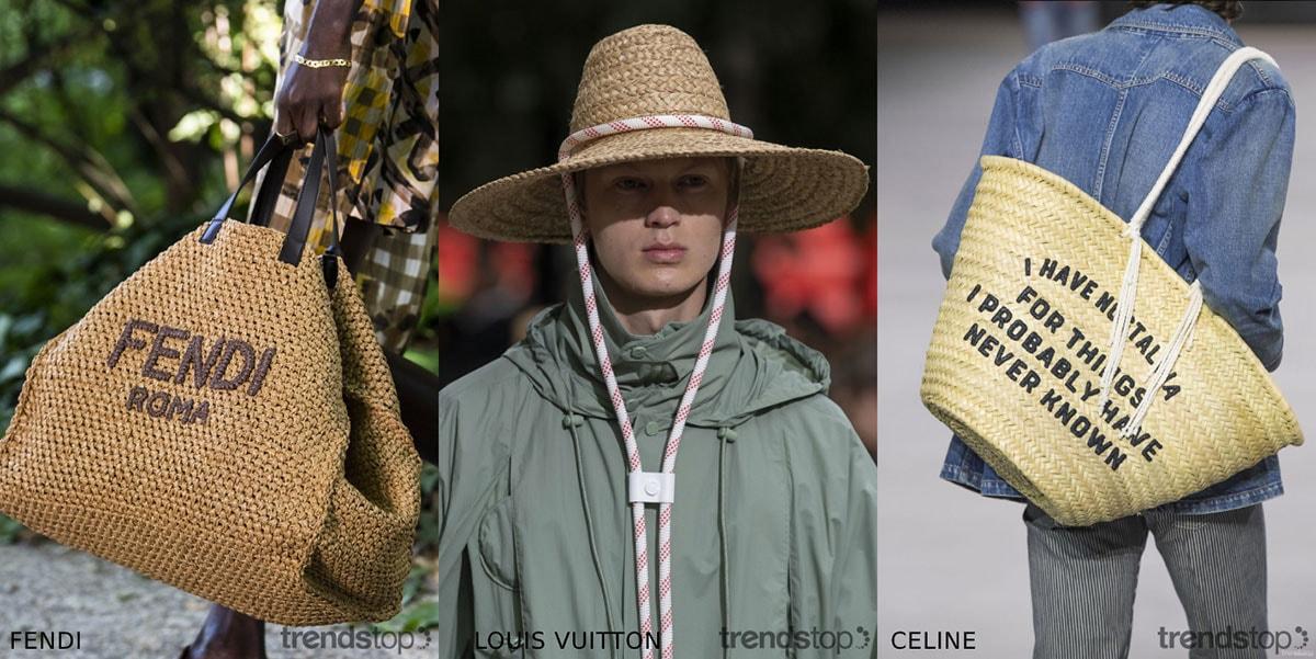 Accessoires voor Mannen uit de Voorjaar/Zomer 2020 Modeshows