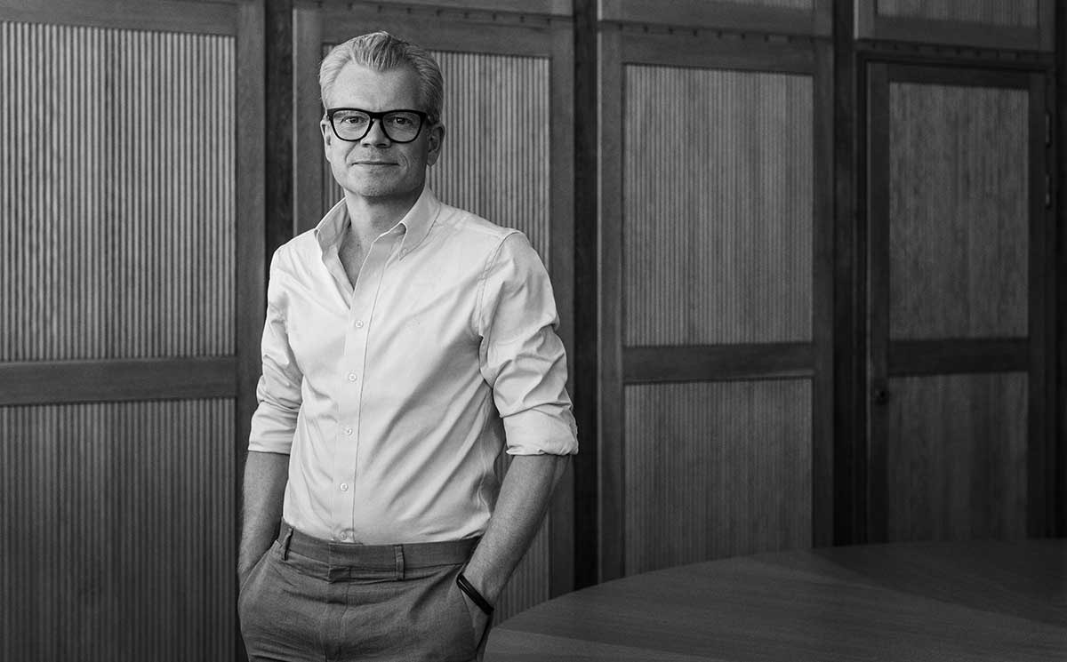 Gant benoemt Patrik Söderström als nieuwe CEO