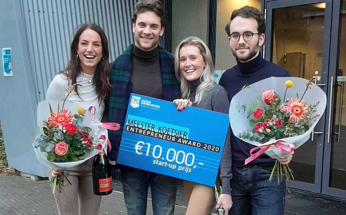 HolisMen wint de Meester Koetsier Entrepreneur Award 2020