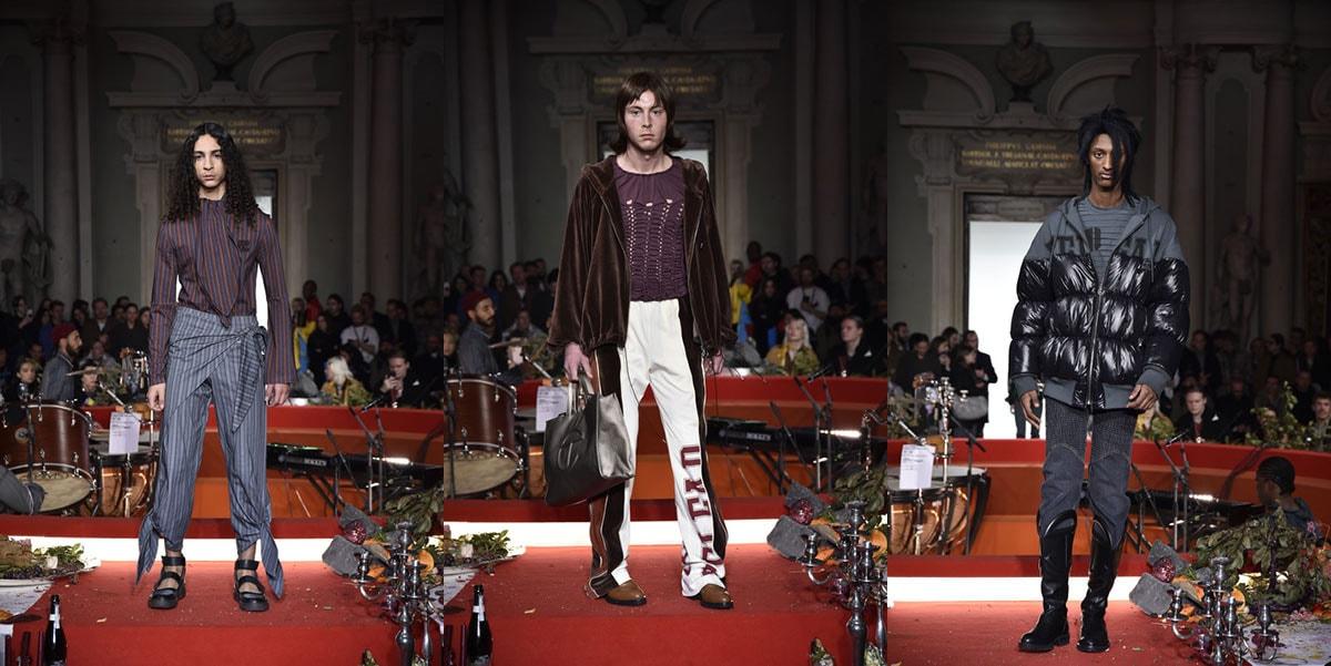 Pitti Uomo 97: Telfar brengt briljante barok stijl naar Florence