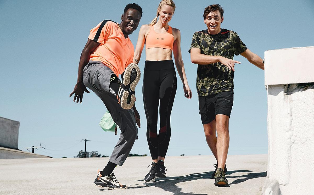 Puma introduceert sportkleding van gerecycled plastic