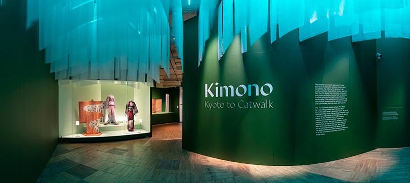 'Kimono: Kyoto to Catwalk' - Binnenkijken bij de eerste grote Europese kimono-tentoonstelling