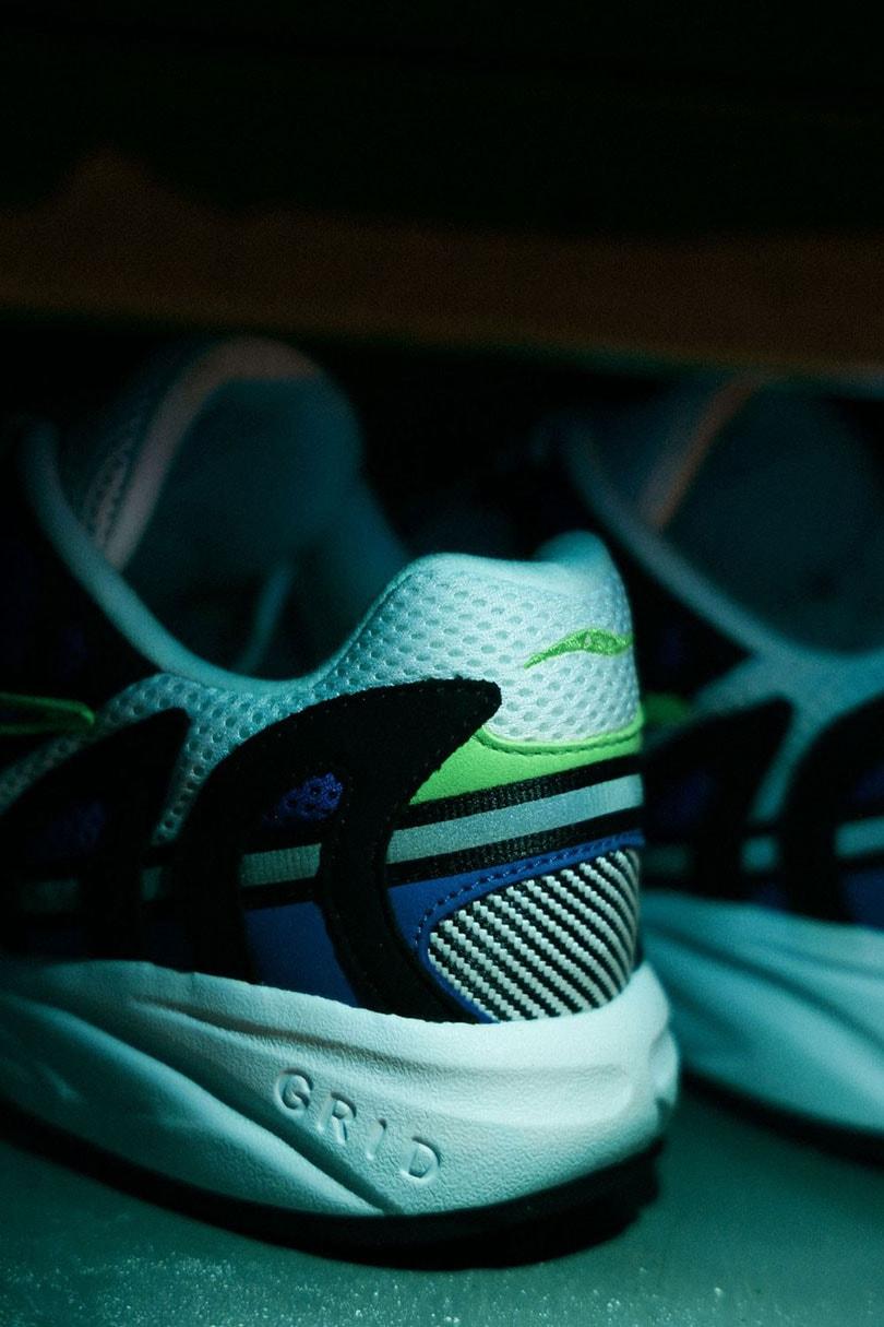 Loopschoenpionier Saucony en sneakergigant Bodega lanceren exclusieve Grid Azura 2000