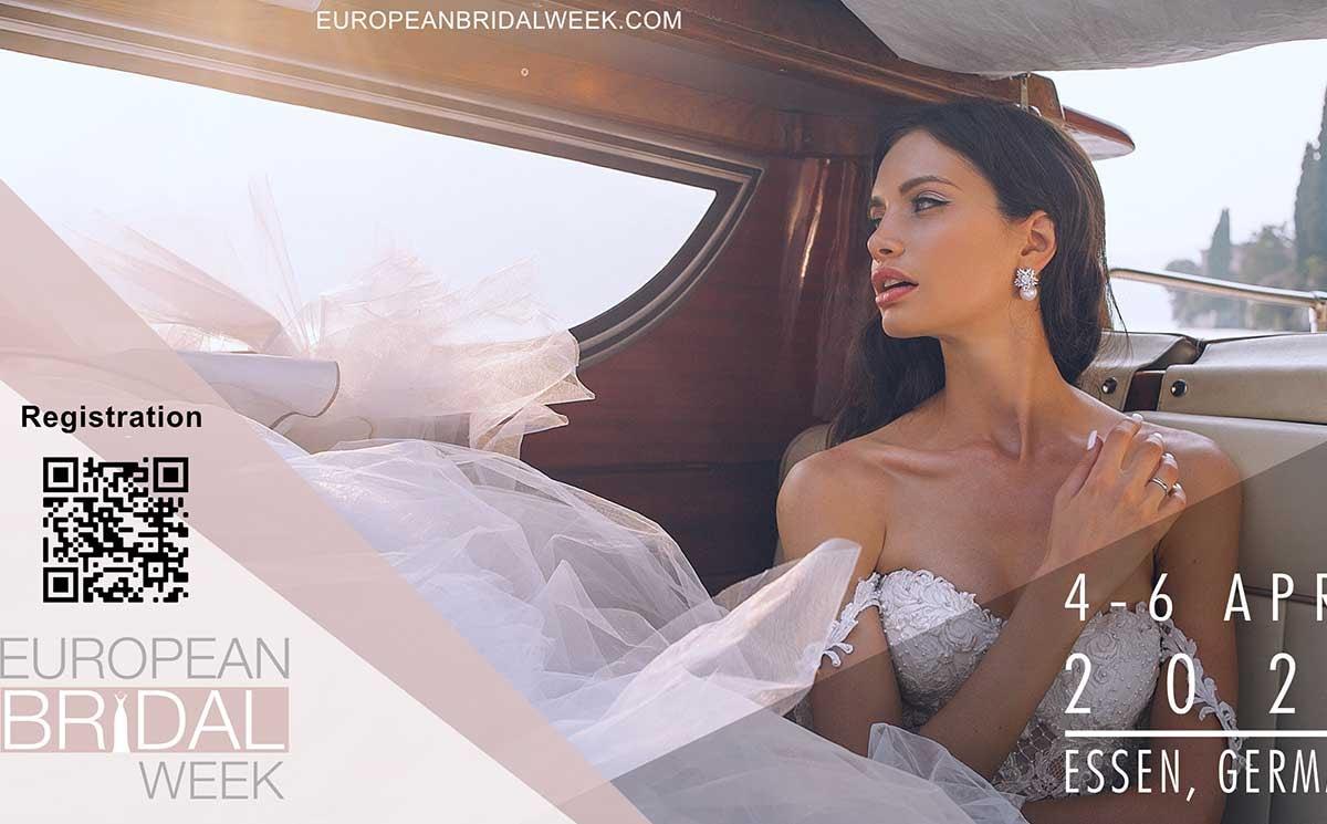 Ontmoet ons tijdens de European Bridal Week 2020!
