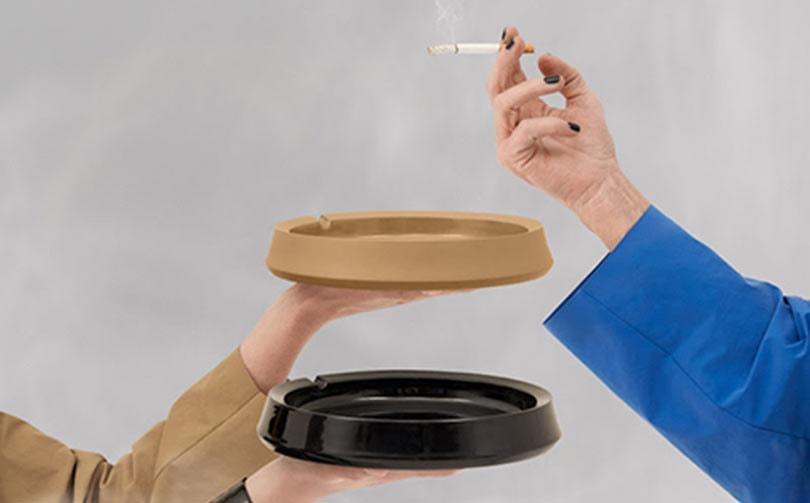 """Een """"creatieve rookpauze"""" tijdens Tefaf: asbakken van Kiki Niesten x Kassl Editions"""