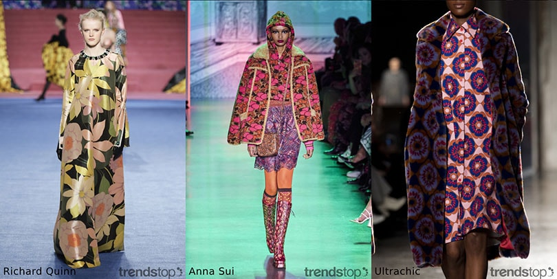 Printtrends in Damesmode in Herfst/Winter 2020-21