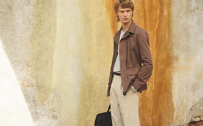 Ermenegildo Zegna introduceert Luxury Leisurewear: luxueuze ensembles in hoogwaardig textiel