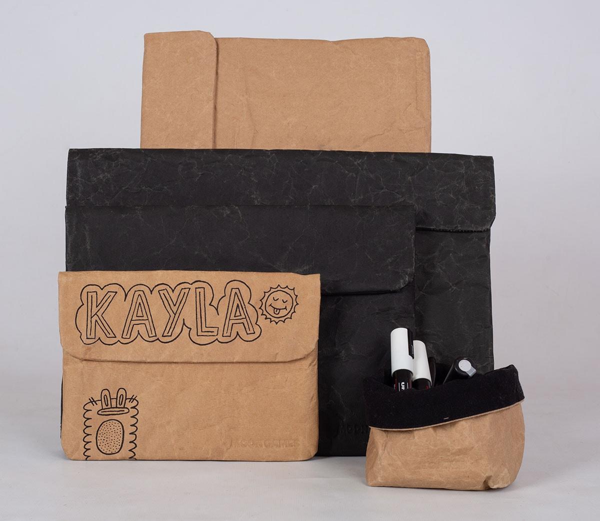 Kijken: dit Antwerpse merk maakt tassen van oude cementzakken en botervlootjes