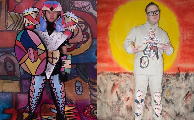 Outsiderwear is het nieuwe streetwear label door outsider en insider artists