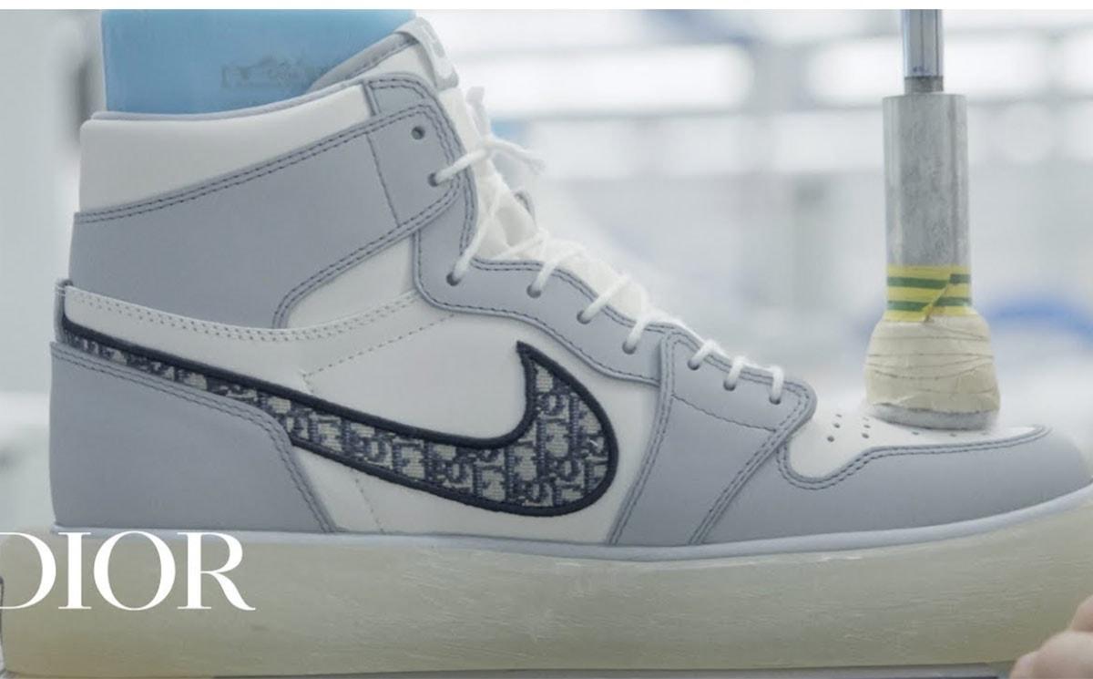 Video: Air Dior sneakers en de capsulecollectie