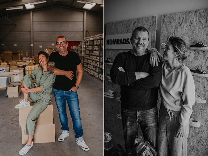 Het verhaal achter de duurzame sneakers van Komrads