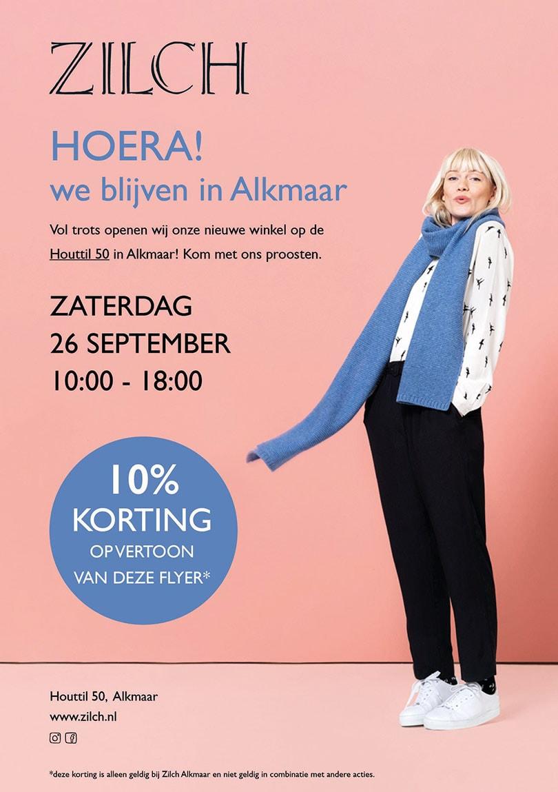 ZILCH Fashion, een nieuwe hotspot in Alkmaar